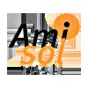 Logo Amisol reisearangør med 20 års erfaring og var den første turoperatøren som tilbød pakkereiser til Sharm el Sheikh fra Skandinavia