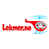 Logo Lekmer nettbutikk med bredt utvalg av babyprodukter, barnevogner, bilbarnestoler og bæreseler til vognposer, smokker, brystpumper og barneserviser