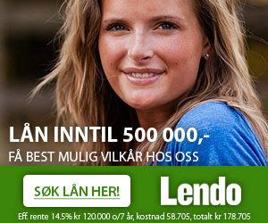 Logo Lendo nettisde som sammenligner lån fra ulike banker og gir deg lånet med de beste rentene