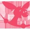 Logo Babycare nettbutikk for landsdekkende kjede som selger babyutstyr, barnevogner, bæreseler, bilstoler og mye annet utstyr til babyen