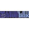 Logo Bluebox nettbutikk med et stort utvalg myke koselige barneleker og bamser for babyer og små barn