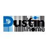 Logo Dustin Home nettbutikk med stort utvalg av foto- og videoutstyr