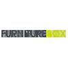 Logo Furniturebox nettbutikk med hagemøbelsett, utemøbler, solbeskyttelse, paviljonger og mye annet hagetilbehør
