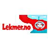 Logo Lekmer nettbutikk som selger barneklær for alle årstider og stiler på ett og samme sted for aktiviteter som  sportsaktiviteter, stranden, skibakken, selskapet og skolen. Velkjente og populære varemerker til gode priser