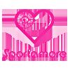 Logo Sportamore nettbutikk med mål om å være nordens største sportsbutikk på nett. Sportamore har treningstøy og sportsutstyr til barn ,dame og herre og fører en rekke kjente merkevarer