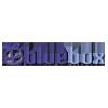 Logo Bluebox nettbutikk som selger kjøkkenutstyr, baketilbehør, kjøkkenredskaper, krus, kopper og glass og alt annet du trenger til kjøkkenet