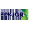 Logo Elkjøp er at av Nordens største handelsforetak innen forbukerelektronikk og elektriske husholdingsapparater