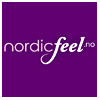 Logo Nordicfeel er nettbutikken som selger parfyme, sminke, hårpleie, hudpleie og giftset for ham og henne  til priser godt under veiledende priser