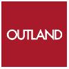 Logo Outland nettbutikken som selger spill, bøker, tegneserier og Manga