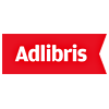 Logo Adlibris Norges største nettbokhandel med 12 millioner titler i sitt sortiment, skjønnlitteratur, sakprosa og faglitteratur for alle bokelskere