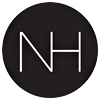 Logo Nordiske Hjem nettbutikk som selger interiør og møbler med Nordisk design