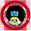 Logo BR Leker nettbutikk som selger et stort utvalg lekemerker