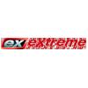 Logo Extreme Fitness er nettbutikken som selger kosttilskudd, treningsklær, treningsutstyr og proteinpulver på nett