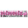 Logo Mimmis nettbutikk som selger et stort utvalg leker og lekemerker
