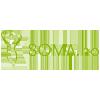 Logo Soma nettbutikk som selger et bredt utvalg av kosttilskudd, supermat og naturlig kroppspleie
