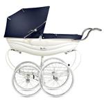 Silver Cross Balmoral Stroller White Babyshop nettbutikk barnevogner